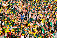 Autzen Stadium Crowd In Eugene Oregon Royalty Free Stock Photo