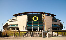 Autzen Stadium - Eugene OR Stock Photo