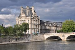 Auvent à Paris Photo libre de droits