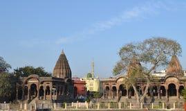 Auvent antique Indore Madhya Pradesh Image stock