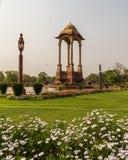 Auvent près de la porte d'Inde, Delhi Images libres de droits