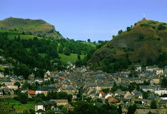 Auvergne arkivbilder