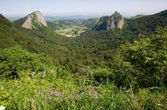 Auvergne Frankrike Arkivfoton