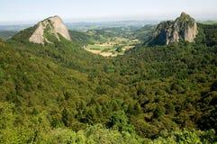 Auvergne Frankrike Arkivbilder