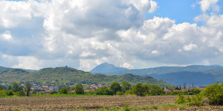 Auvergne region of Massif Central, France Stock Image