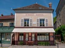 The Auberge Ravoux. Auvers-sur-Oise, France - June 1, 2019: Auberge Ravoux, the hostel where the artist Vincent Van Gogh lived his last days royalty free stock image