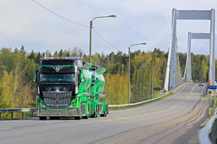 Auvinen Show Truck Highway Hero on the Road Stock Image