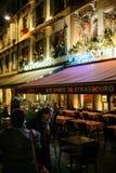 Aux armes de Strasburska Francuska restauracja Obrazy Royalty Free