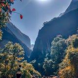 Aux montagnes image libre de droits