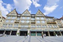 Aux rues de Munich Photographie stock libre de droits