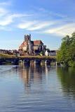 Auxerre Royaltyfri Fotografi
