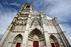 Auxerre cathedral Stock Photos