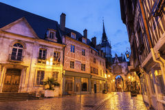 Auxerre City Hall and Clock Tower Royalty Free Stock Photo
