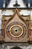 Auxerre clock Stock Photo