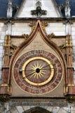 Auxerre clock Stock Photo