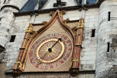 Auxerre Clock Tower Stock Image