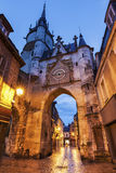 Auxerre Clock Tower Stock Photo