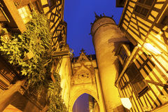 Auxerre Clock Tower Royalty Free Stock Photo