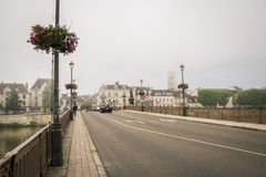 Auxerre, France Stock Photos