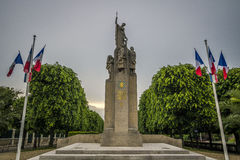 Auxerre, France stock photography