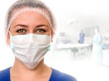 Auxiliar médico Imagen de archivo libre de regalías