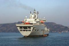 Auxiliar naval imagens de stock