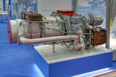 Auxiliary gas turbine engine stock photography