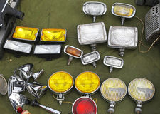 Auxiliary lamps Stock Photo