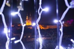 Avènement à Zagreb, Croatie 2016 Images libres de droits