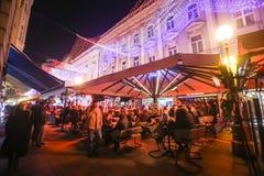 Avènement à Zagreb, Croatie 2016 Photographie stock libre de droits