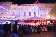 Avènement à Zagreb, Croatie 2016 Image stock