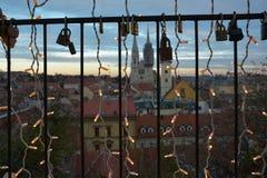 Avènement de Zagreb, Croatie photo libre de droits
