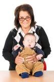 Avó e bebê Imagem de Stock
