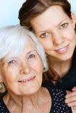 Avó e neta Fotos de Stock Royalty Free