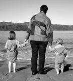 Avó e netos Foto de Stock Royalty Free