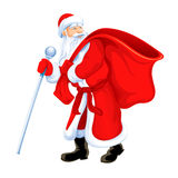 Avô de Santa do Natal Imagem de Stock Royalty Free