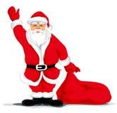 Avô de Santa do Natal Fotografia de Stock