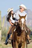 Avô e neta Fotografia de Stock Royalty Free
