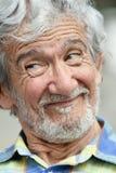 Avô masculino latino-americano parvo fotografia de stock