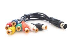 AV кабеля Стоковые Изображения RF