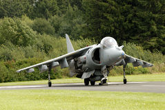 AV-8B Harrier attack aircraft. British AV-8B Harrier attack aircraft Stock Images