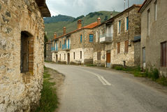 Gammal by i Grekland Royaltyfri Bild