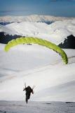 av att ta för paraplane Royaltyfri Fotografi