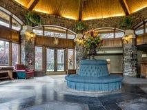 Av Banffet Springs Hotel Royaltyfria Bilder