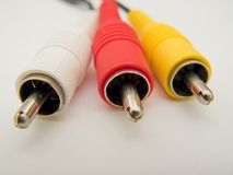 AV Cable Stock Images