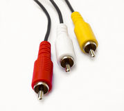 AV cable Stock Photography