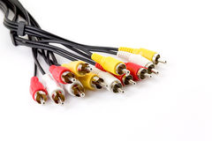 AV cable Royalty Free Stock Photos