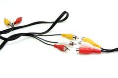 Av cable Stock Image