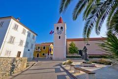 By av Diklo nära Zadar Arkivfoton