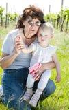 Avó e neta Fotografia de Stock
